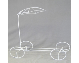 "14""WX15""H metal umbrella Wagon"