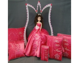QUINCEANERA SET FLOWER SET(6PC)