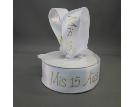 MIS QUINCE SATIN RIBBON
