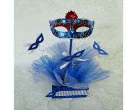 5X15 QUINCEANERA MASKQUERADE CENTER PIECE