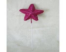 GLITTERED STAR PICK