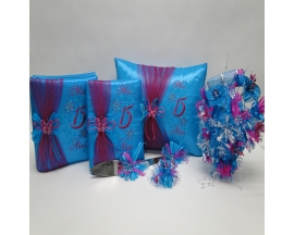 QUINCEANERA  BUTTERFLIES SET 26 (6PC)