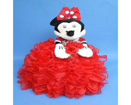 MINNIE PLUSH RUFFLED DRESS