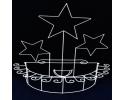3 STAR METAL BRYNDIS CUP HOLDER