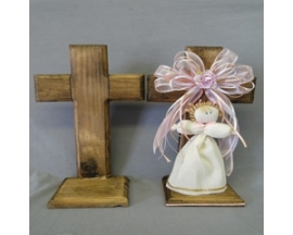 18X31 Cm Wood Cross